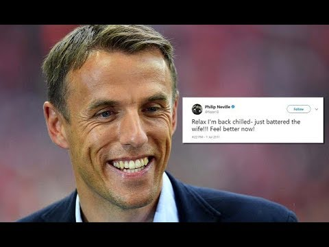 Phil Neville s exist England Women's boss tweets uncovered
