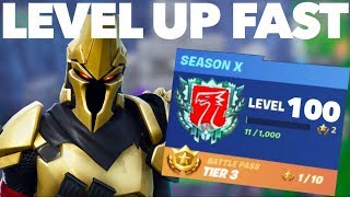 How to Get XP FAST in Fortnite Season 10 | How to Complete the Level-Headed Challenges FAST | Guide
