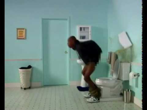 Dave chappelle slow motion toilet clip