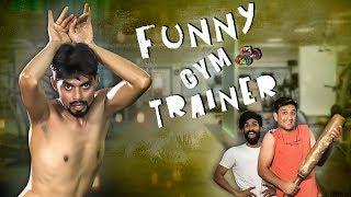 Funny Gym Trainer    Deadly Comedy Video    Kiraak Hyderabadiz