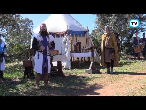 Sítio Medieval recria acampamento de D. Afonso Henriques em Pernes