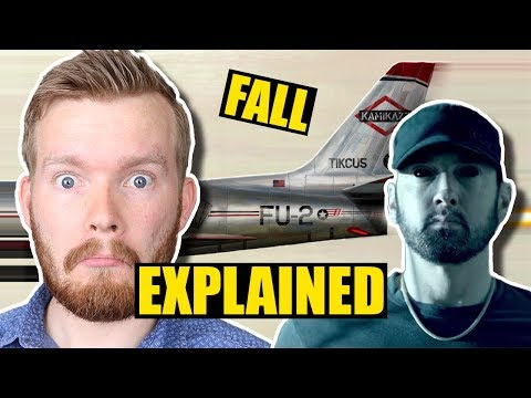 "Eminem's ""Fall"" Music Video & Lyrics Meaning Explained"
