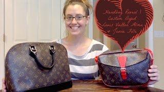 Handbag Reveal | Custom Dyed Louis Vuitton Alma & Jeune Fille