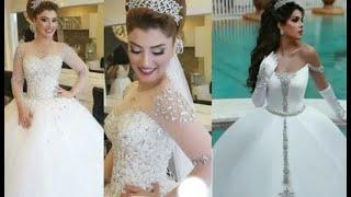 The  Most Beautiful Wedding Dresses For The Bride ❤ 👰 ❤ أجمل وأحدث فساتين الزفاف للعروس