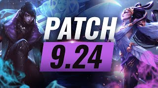 Best Champions TIER List – League of Legends Patch 9.24