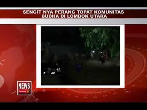 SENGIT PRANG TOPAT KOMUNITAS BUDHA DI LOMBOK UTARA