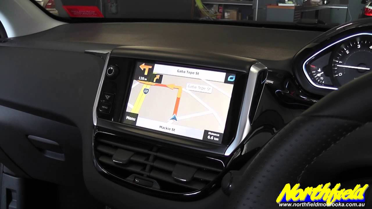 2013 peugeot 208 touch screen navigation upgrade youtube. Black Bedroom Furniture Sets. Home Design Ideas