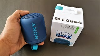 Sony SRS XB12 Bluetooth Speaker - Unboxing and Hands On