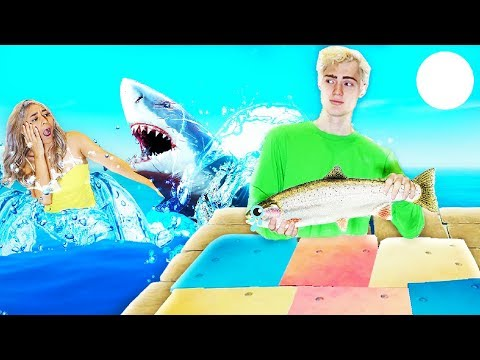 My Girlfriend Stole My Food So I Fed Her To The Sharks... | Raft