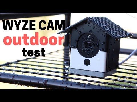Will Wyze Cam Break Outdoors? Water Test & Daisy Chaining - 동영상