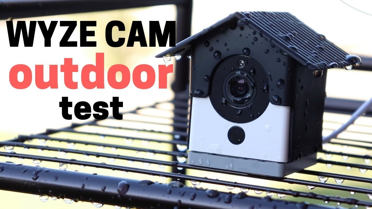 Will Wyze Cam Break Outdoors? Water Test & Daisy Chaining