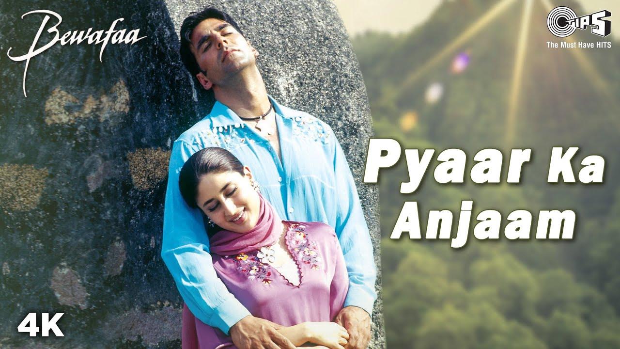 Download Pyaar Ka Anjaam Song Video - Bewafaa | Akshay, Kareena & Sushmita | Kumar Alka & Sapna