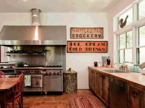 Rustic Modern Farmhouse Kitchens 2018