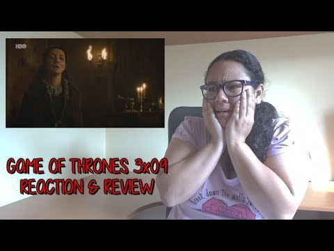 "Game of Thrones 3x09 REACTION & REVIEW ""The Rains of Castamere"" S03E09 