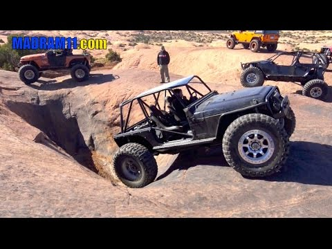 HITTING THE HOT TUBS IN MOAB At EASTER JEEP SAFARI