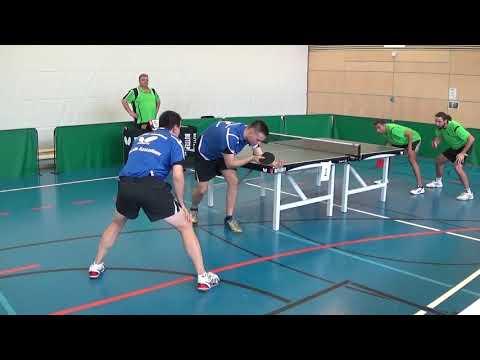 Oberliga Bayern Tischtennis Ehret Kostadinov Windsbach Grzyb Ludwig Bad Aibling Stativ 20170930 1