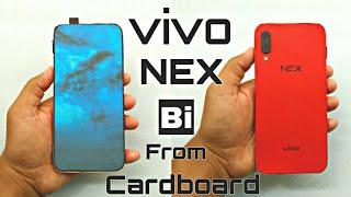 Vivo NEX from Cardboard and Paper | Popup Camera | Bi