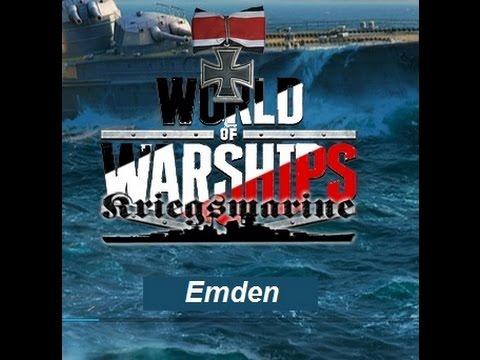 World of Warships  Tier 2 - KMS Emden -  Imperial German Cruiser