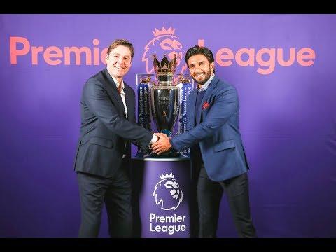 Arsenal fan Ranveer Singh is new ambassador of Premier League