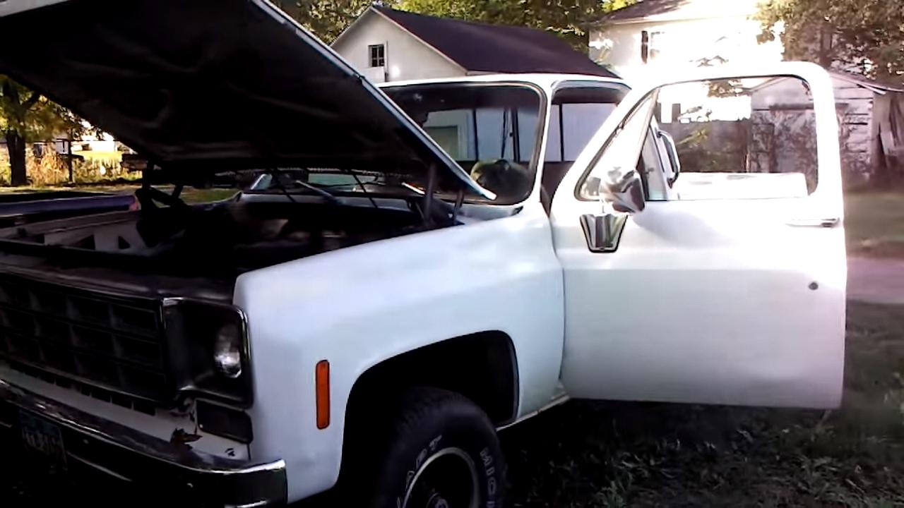 1978 chevy gmc 4x4 half ton pickup truck