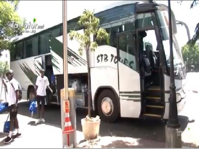 المنتخب الوطني للشباب يصل إلى المغرب - تواتر