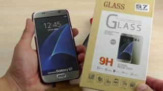 """ОБЗОР: Роскошный Кожаный Чехол-Флип для Samsung Galaxy S7 SM-G930F """"Fasion"""""""