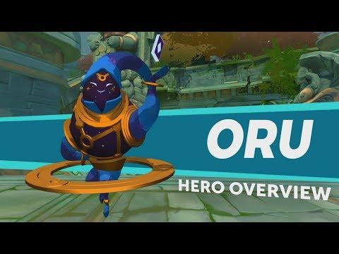 Gigantic: Hero Overview - Oru