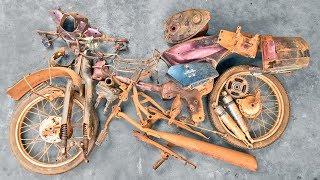 1990 Honda Super Cub 100EX Frame RESTORATION | Restoration o...