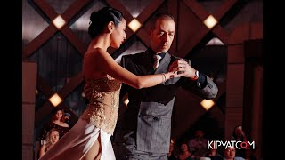 """Tango in Nur Sultan🇰🇿: Silvina Tse y Michael """"el Gato"""" Nadtochi"""