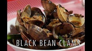 Stir-fry Clams with homemade black bean sauce