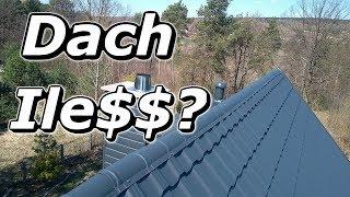Budowa Domu  za 100 tys Dach Więźba dachowa Blacho - dachówka Zakończenie kominów Ile to kosztuje.