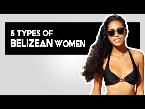 5 TYPES OF BELIZEAN WOMEN