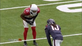 DeAndre Hopkins MIC'D up vs Patrick Peterson and the Arizona Cardinals