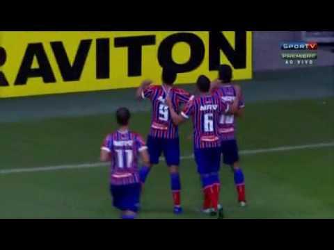 Bahia 2 x 0 Oeste - Gols de Hernane e Zé Roberto - 28/6/2016