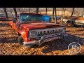 Old Abandoned Station Wagon - Abandoned Jeeps (Old Classics)