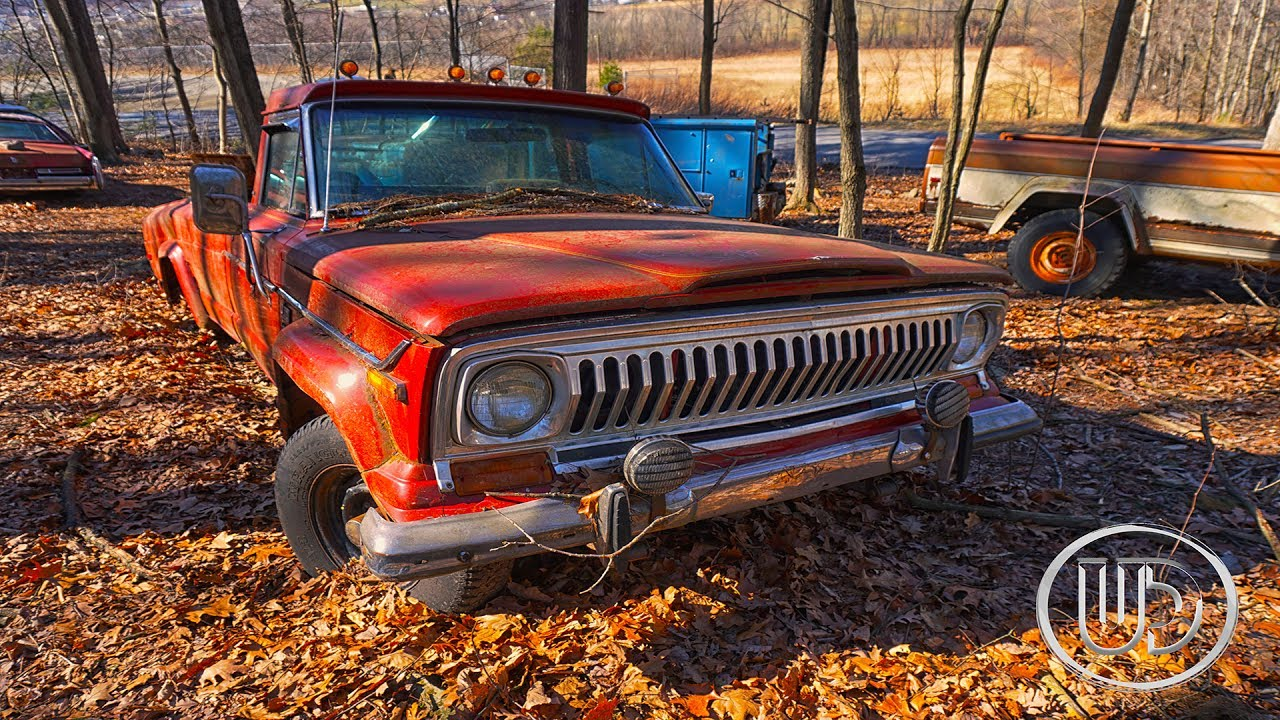 Old Abandoned Station Wagon - Abandoned Jeeps (Old Classics) - YouTube