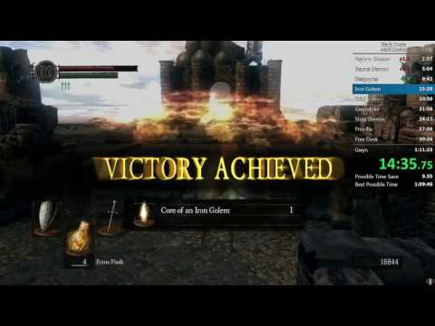 Dark Souls All Bosses in 1:10:46 IGT