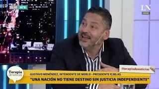 "Menéndez (del PJ) aseguró ""un amplio frente con Massa que le va a ganar a Macri"""