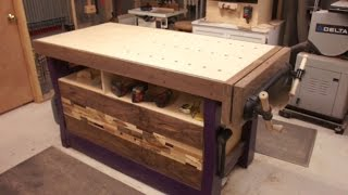 Purple Pocket Hole Workbench  - Pt 6 - Drawers