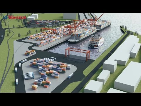 US Television - Romania - National Company Maritime Danube Ports Administration - Galati