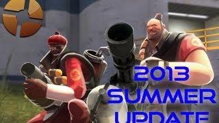 Team Fortress 2: Summer 2013 Cooler Crate Update! (hd)