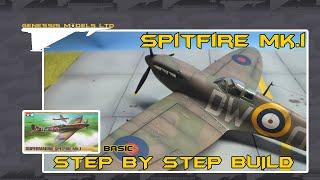 Tamiya : Supermarine Spitfire Mk.I : 1/48 Scale : Step By Step Video Build : Episode.1