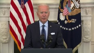 President Joe Biden outlines steps to make it 'easier than ever to get vaccinated'