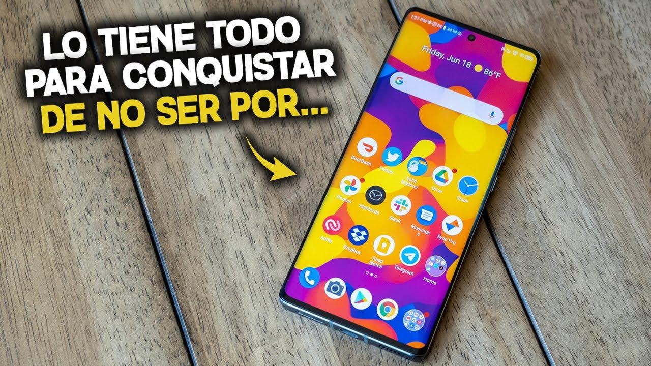 ESTE TELEFONO LO TIENE TODO PARA CONQUISTAR EL MERCADO, PERO NADIE LO CONOCE...
