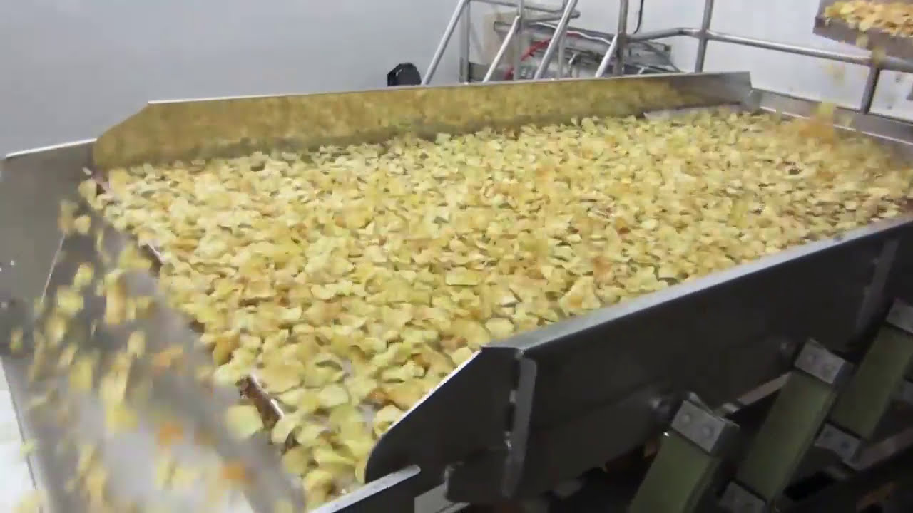 Kettle chips sorting machine Genius - TOMRA Sorting