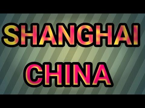 shanghai bagianI dari perjalanan ke kota sanghai