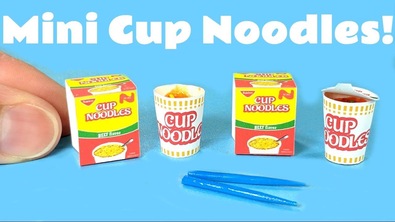 how to make homemade cup ramen