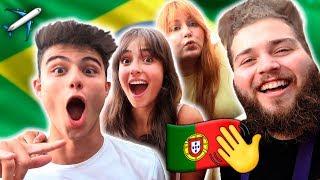 OS PORTUGUESES CHEGARAM AO BRASIL