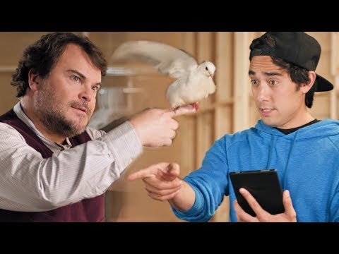 MAGIC DUEL: Jack Black vs Zach King