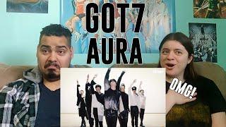 Couple Reacts to GOT7(갓세븐) - AURA(아우라) | Blindfolded choreog…